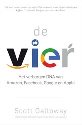 De vier -Het verborgen DNA van Amazon, Facebook, Google en Apple Galloway, Scott