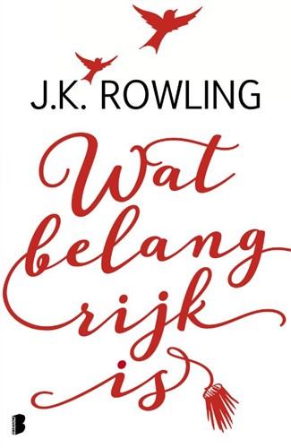 Wat belangrijk is -Over het belang van verbeeldin g en waarom fouten maken juist Rowling, J.K.