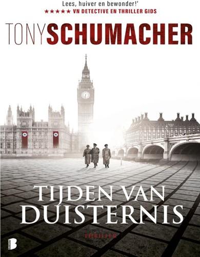 Tijden van duisternis -Engeland, 1946. de nazi's en de macht in handen. een ma Schumacher, Tony