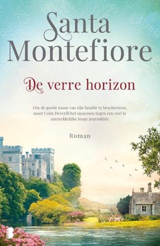 De verre horizon -Om de goede naam van zijn fami lie te beschermen, moet Colm D Montefiore, Santa