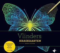 Vlinders Kraskaarten -Uitneembare kaarten om te kras sen + 1 kraspen