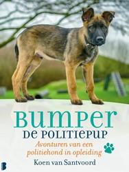 Bumper de politiepup -Avonturen van een politiehond in opleiding Santvoord, Koen van