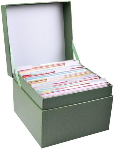 WENSKAARTENBOX PAPERCLIP MET INHOUD -WENSKAARTEN BOX.COMPLEET