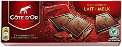 CHOCOLADE COTE D'OR 10GR MIGNONNETT -ETENSWAREN 34895 MELK