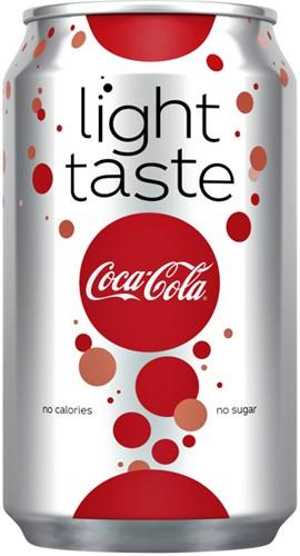 FRISDRANK COCA COLA LIGHT BLIKJE 0.33L -KOUDE DRANKEN 401625 Frisdrank coca cola light blikje 0.33l