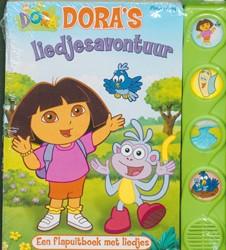 Dora liedjesavontuur -Een flapuitboek met liedjes