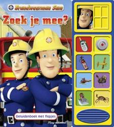 Brandweerman Sam - Zoek je mee? -geluidenboek met flapjes