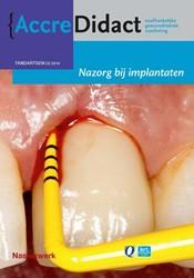AccreDidact Nazorg bij implantaten -naslagwerk bij de onlinecursus Avoort, Gordon van der