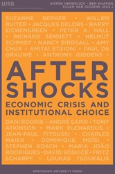 Aftershocks -economic Crisis and Institutio nal Choice HEMERIJCK, A.