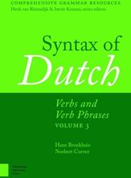 Comprehensive Grammar Resources Syntax o -verbs and verb phrases volume 3 Broekhuis, Hans