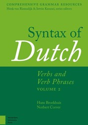 Comprehensive Grammar Resources Syntax o -Verb and Verb Phrases. Volume 2 Broekhuis, H.