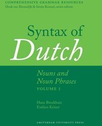Syntax of Dutch: Nouns and Noun Phrases -nouns and noun phrases Broekhuis, Hans