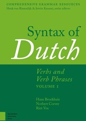 Comprehensive Grammar Resources Syntax o -Verbs and Verb Phrases. Volume 1 Broekhuis, H.