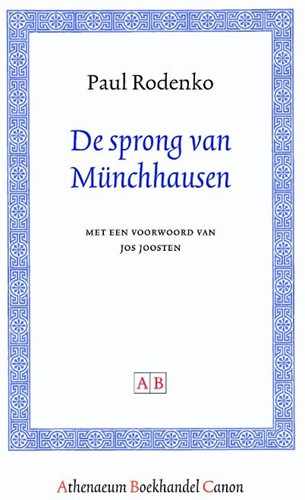 De sprong van Munchhausen -BOEK OP VERZOEK Rodenko, Paul