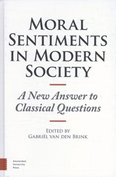 Moral sentiments in modern society -a new answer to classical ques tions Brink, Gabriel van den