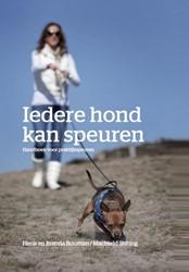 Iedere hond kan speuren -handboek praktijkspeuren Bouman, Henk