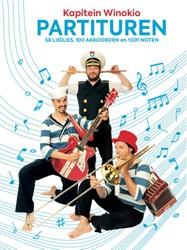 Partituren -58 liedjes, 100 akkoorden en 1 001 noten Kapitein Winokio