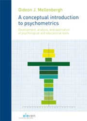 A conceptual introduction to psychometri -development, analysis and appl ication of psychological and e Mellenbergh, Gideon J.