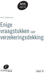ACIS-serie Enige vraagstukken van verzek Stadermann, F.