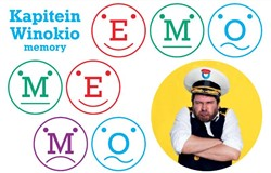 Emo Memo -Een memoryspel vol emoties Kapitein Winokio