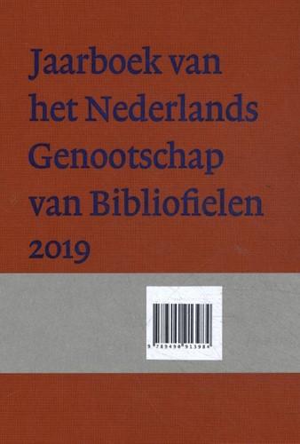 Jaarboek van het Nederlands Genootschap -Nederlands Genootschap van Bib liofielen Lem, Anton vander