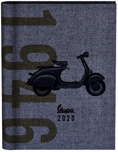 AGENDA 2020 VESPA WIRE-O BLAUW -AGENDA'S BTC 493996