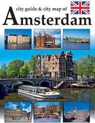 Amsterdam Stadsgids Engelse Editie incl. -AMSTERDAM STEDENGIDS MET STADS KAART Loo, Arthur van