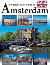 City guide and city map of Amsterdam -AMSTERDAM STEDENGIDS MET STADS KAART Loo, Arthur van