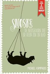 Smoske, de neushoorn die er geen zin in Kamphuis, Michiel
