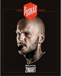 Puskas 5 Man in het zwart -voetbalverhalen Heyerick, Jonas