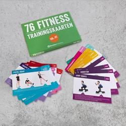 Fitness trainingskaarten - Volume 2 -76 fitness trainingskaarten
