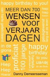 Meer dan 700 wensen voor verjaardagen Demeersseman, Danny