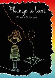Pleuntje te Laat -Piraat ~ Schatkaart De Laaf, Sven