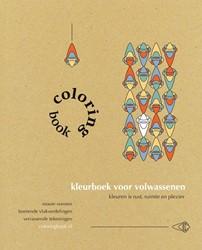 Coloringbook -kleurboek voor volwassenen Vis, Saskia