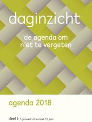 Daginzicht agenda 2018 I (jan t/ jun 201 -de agenda om nooit te vergeten