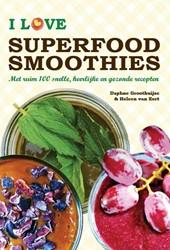 I love superfood smoothies -met ruim 100 snelle, heerlijke en gezonde recepten Groothuijse, Daphne