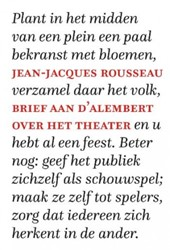 Brief aan d'Alembert over het theat Rousseau, Jean-Jacques