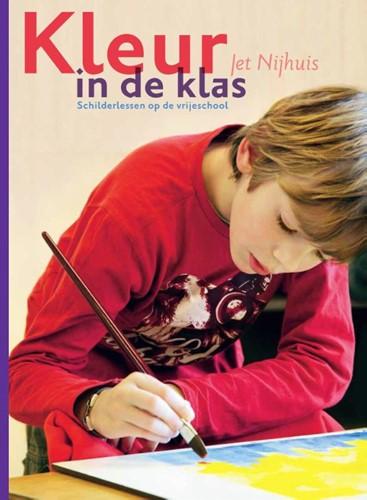 Kleur in de klas -schilderlessen op de vrijescho ol Nijhuis, Jet