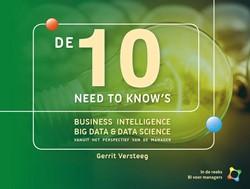 Business Intelligence voor Managers De 1 -business intelligence, big dat a & data science vanuit he Versteeg, Gerrit