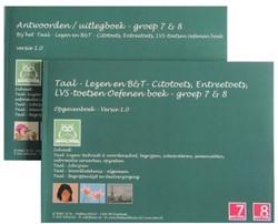 Taal - Lezen en B&T - Citotoets, Ent -Taal - Lezen en Taal - Begripp enlijst en Taalverzorging Sanders, O.H.M.