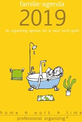 Familie-agenda 2019 -de organizing agenda die je we er lucht geeft Timmermans, Sophie