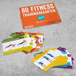 Fitness trainingskaarten - Volume 1 -80 fitness trainingskaarten