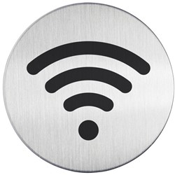 INFOBORD PICTOGRAM DURABLE WIFI ROND -PICTOGRAMMEN 478523 83MM