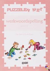 Ajodakt, Puzzelen met werkwoordspelling Teekens, O.