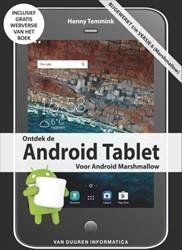 Ontdek de Android Tablet, 5e editie -voor Android Marshmallow Temmink, Henny