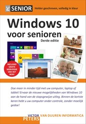 Windows 10 voor senioren Peters, Victor