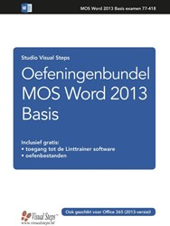 Oefeningenbundel MOS Word 2016 en 2013 Studio Visual Steps