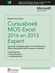 Cursusboek MOS Excel 2016 en 2013 Expert Studio Visual Steps
