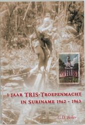 1 jaar TRIS Troepenmacht in Suriname -BOEK OP VERZOEK Beker, G.D.