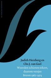 Woorden schieten tekort, daarom versjes -Brieven 1962-1974 Herzberg, Judith